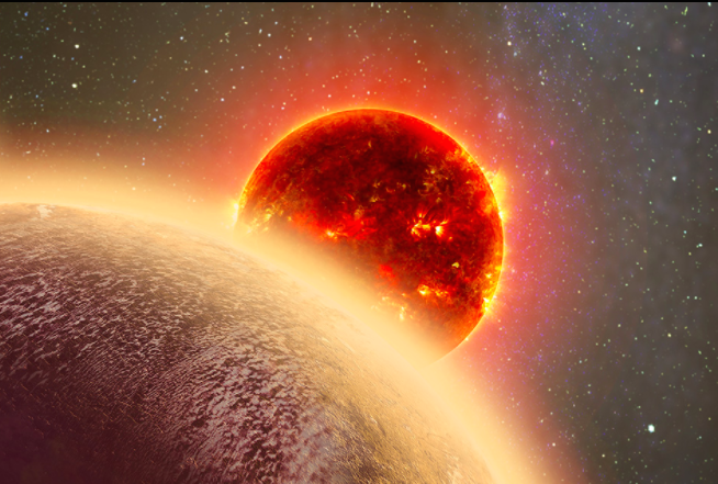 The rocky exoplanet GJ 1132b was first pinpointed in 2015 (Dana Berry)