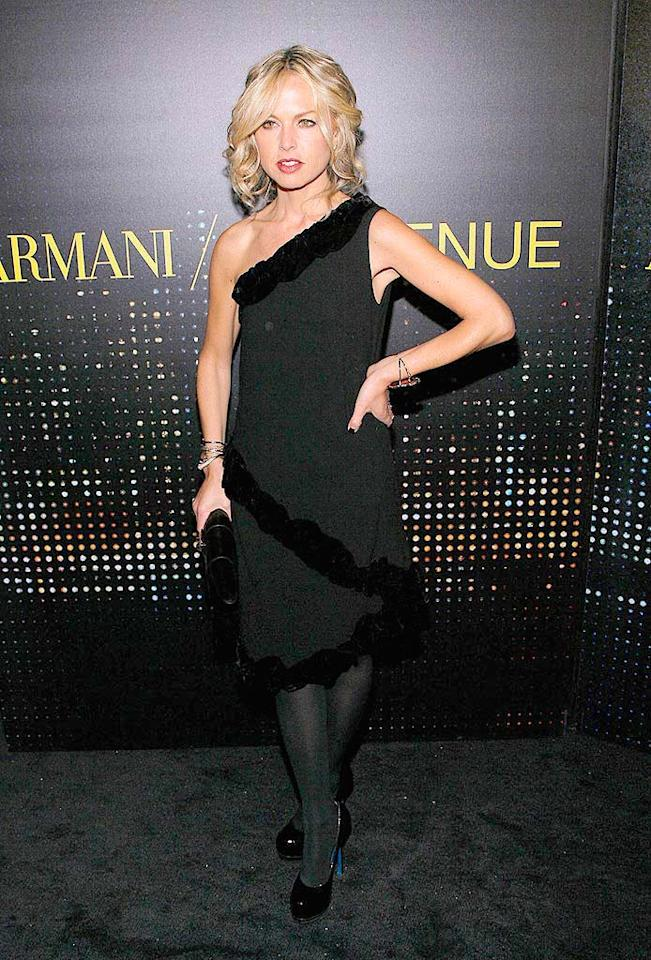 """Rachel Zoe rocked the black carpet in a stylish one-shoulder dress, tights, and Yves St. Laurent """"Trib Two"""" heels. Jemal Countess/<a href=""""http://www.wireimage.com"""" target=""""new"""">WireImage.com</a> - February 17, 2009"""