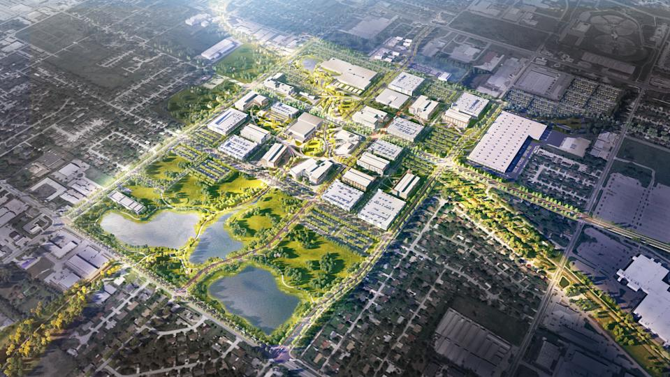 """Walmart's new Home Office in Bentonville, Ark. will feature a 300-acre """"connected campus"""" meant to """"foster creativity"""" as the retailer seeks top talent."""