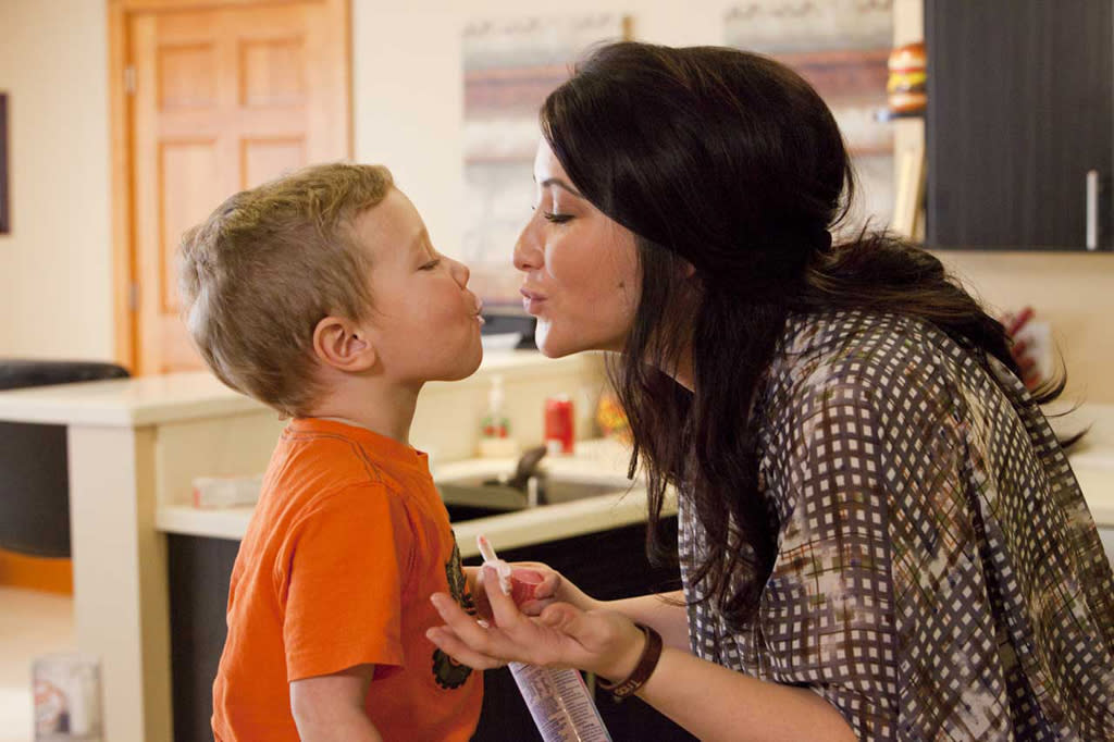 "Tripp and his mom Bristol Palin in the new Lifetime docuseries, ""Bristol Palin: Life's a Tripp."""