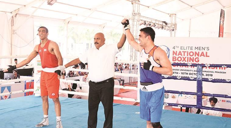 National Boxing Championship: Tokas ends Chandigarh local hope Kumar's challenge to enter semi-final