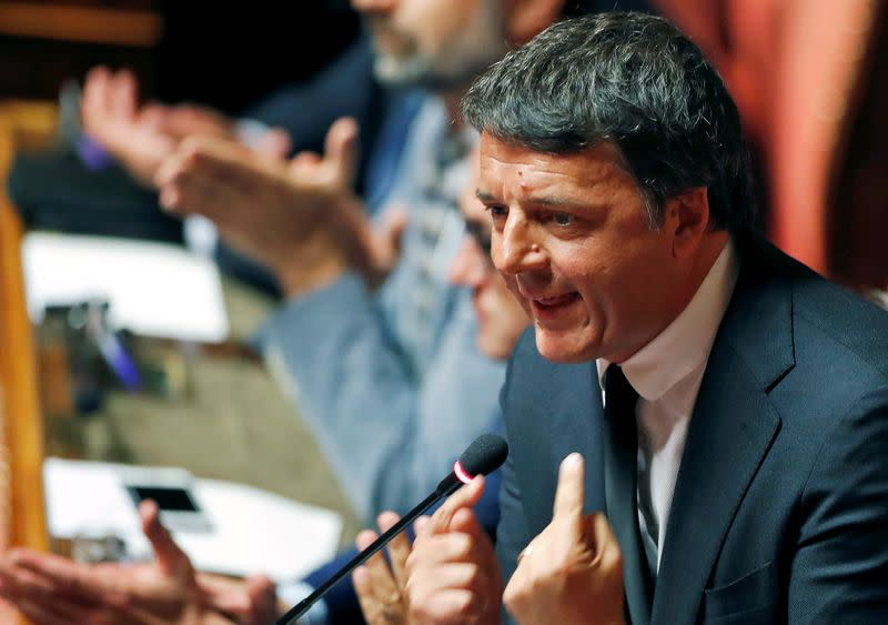 Italy's Renzi boycotts cabinet meet, challenges PM to find a new government
