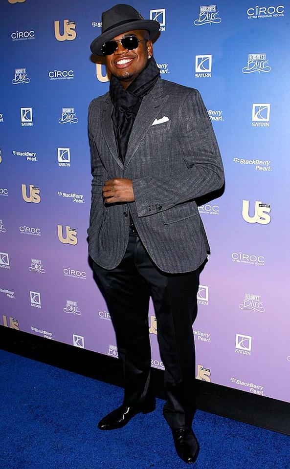 """Ne-Yo was all smiles upon arriving at Us Weekly's 2008 Hot Hollywood bash, held at Skylight in NYC. The Gucci-clad R&B star was named Hitmaker of the Year. Scott Wintrow/<a href=""""http://www.gettyimages.com/"""" target=""""new"""">GettyImages.com</a> - October 21, 2008"""