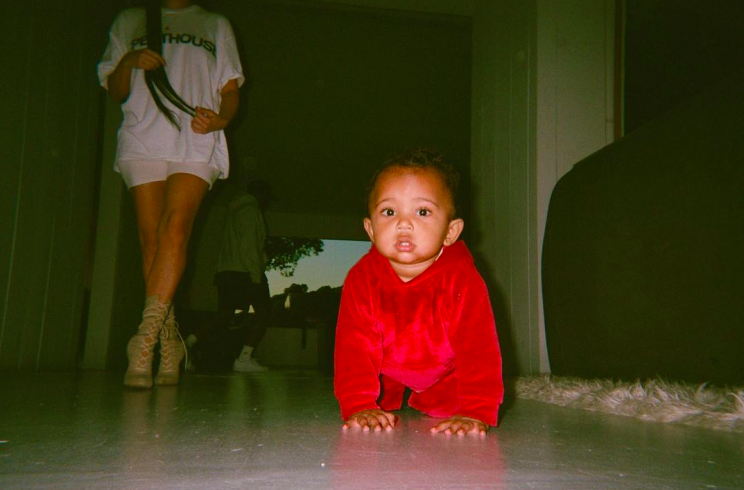 Kim Kardashian has been slowly rolling out a series of family photos on Instagram. (Photo: Instagram)