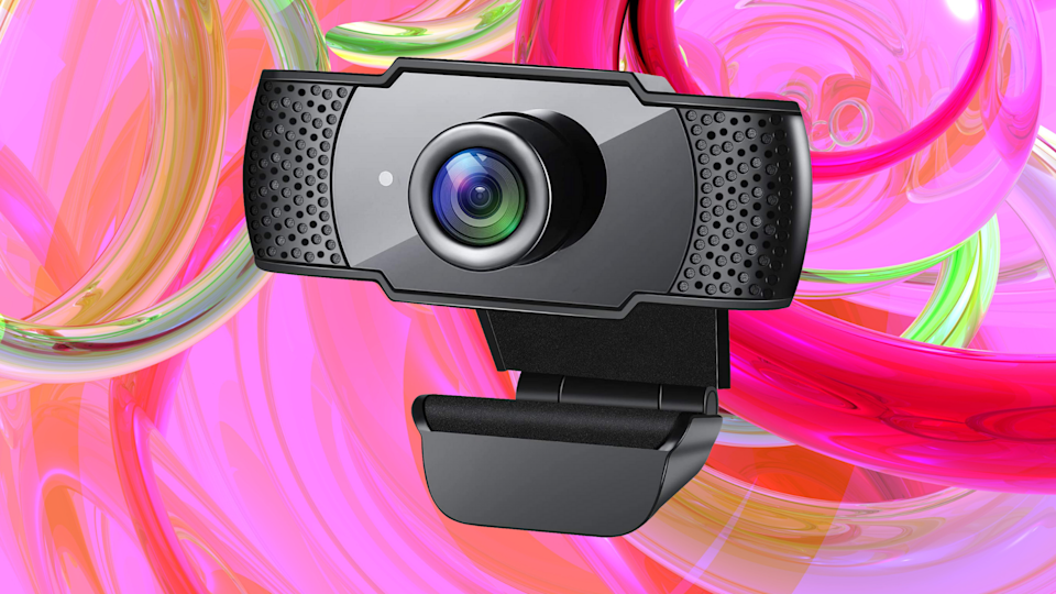 Smile! You just scored a great web cam for 21 bucks. (Photo: Amazon)