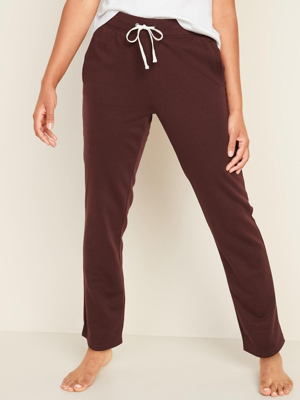 <p>Style these <span>French Terry Straight-Leg Sweatpants</span> ($25, originally $30) with matching sweatshirts and you'll be rocking the coolest sets.</p>