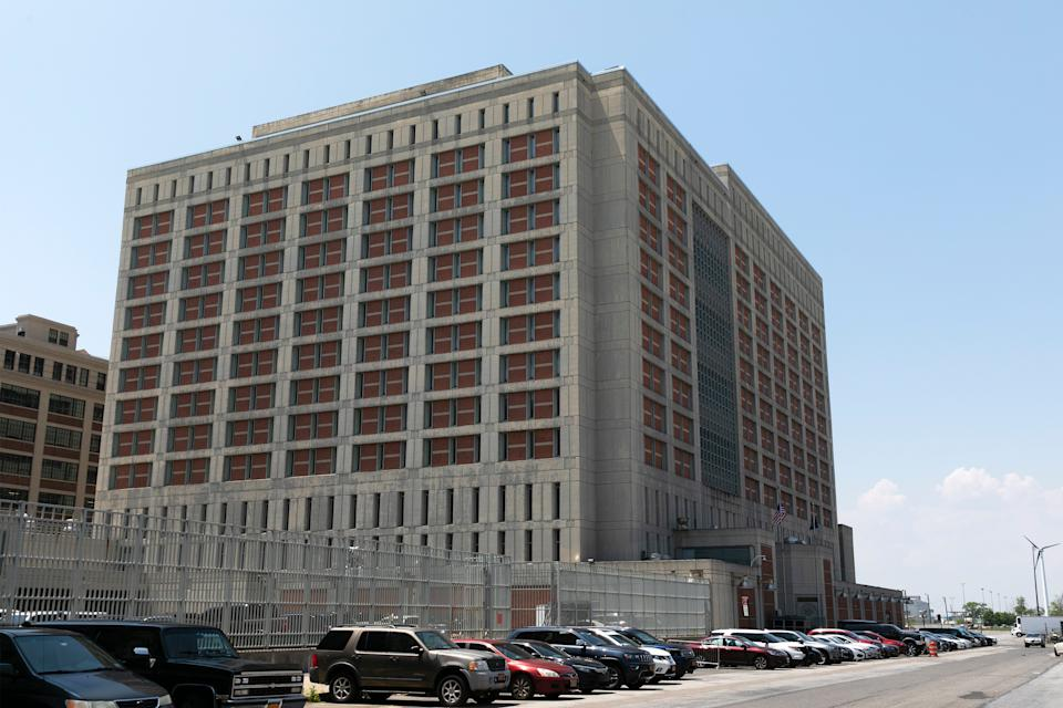 <p>The Metropolitan Detention Centre in Brooklyn where Ghislaine Maxwell is being held ahead of her trial</p>AP
