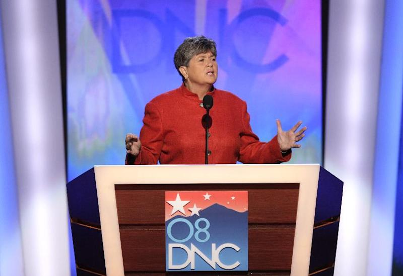 "FILE - In this Aug. 25, 2008, file photo Nancy Keenan, president of NARAL, speaks at the Democratic National Convention in Denver. Now the 2012 election season will offer voters the starkest choice ever on the hot-button social issues of same-sex marriage, abortion rights, and access to birth control. ""Make no mistake about it: Ryan is 100 percent behind the War on Women agenda,"" Keenan has said of Republican Mitt Romney's vice-presidential running mate Paul Ryan. (AP Photo/Ron Edmonds, File)"