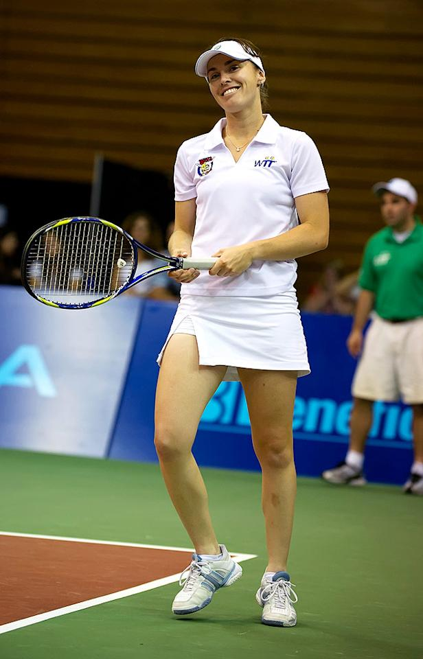 """Tennis phenom Martina Hingis became the youngest Grand Slam singles winner in the 20th century when she won the Australia Open as a 16-year-old. She turned 30 on September 30. Gilbert Carrasquillo/<a href=""""http://www.gettyimages.com/"""" target=""""new"""">GettyImages.com</a> - June 21, 2010"""