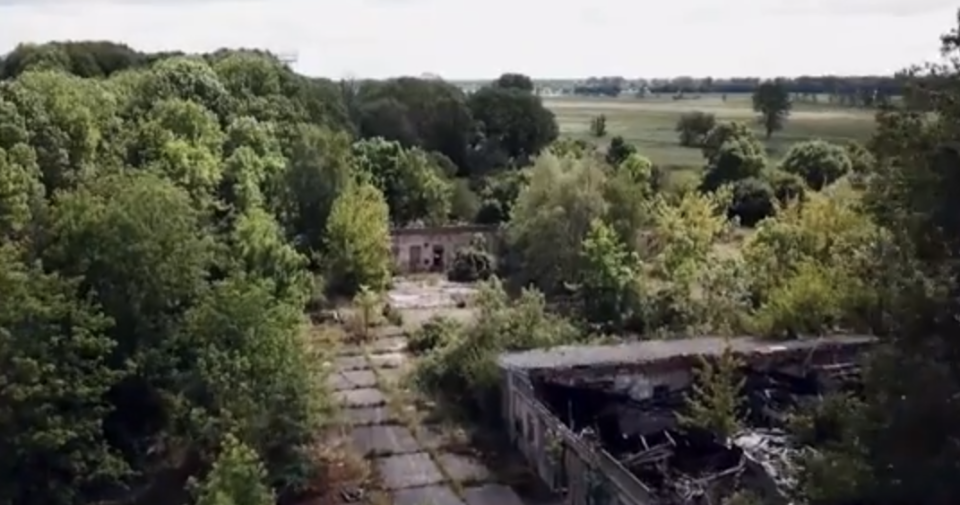 The abandoned property of Brueckner which police have since made discoveries at. Source: 60 Minutes