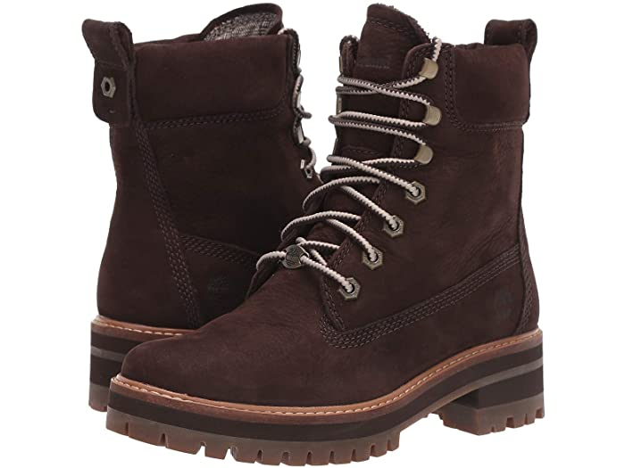 "<h3>Timberland Courmayeur Valley 6"" Boot</h3><br>""I felt these ran a bit small for my normal size due to an almond shaped toe. I went up 1/2 size and they were perfect. I love that they are very light weight and not clunky. They aren't stiff so I didn't need time to break them in. They were comfortable right out of the box. I got the dark brown which are the perfect shade of a deep rich brown. I also bought them in black."" – Anonymous <br><br><strong>Timberland</strong> Courmayeur Valley 6"" Boot, $, available at <a href=""https://go.skimresources.com/?id=30283X879131&url=https%3A%2F%2Ffave.co%2F37Pr4MX"" rel=""nofollow noopener"" target=""_blank"" data-ylk=""slk:Zappos"" class=""link rapid-noclick-resp"">Zappos</a>"