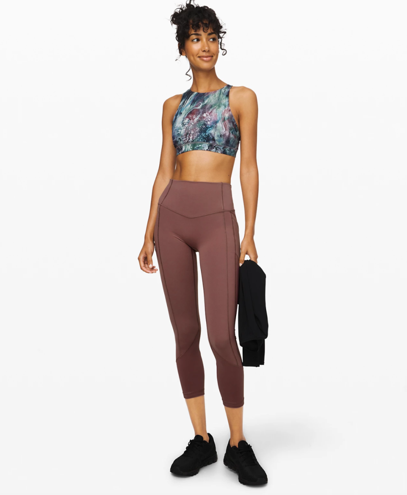 All The Right Places Crop II. Image via Lululemon.