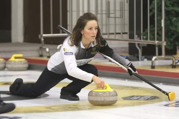 Aly Jenkins dreamed of curling in the Scotties.