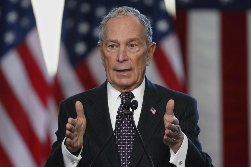 Bloomberg rises to 4th place in new national poll