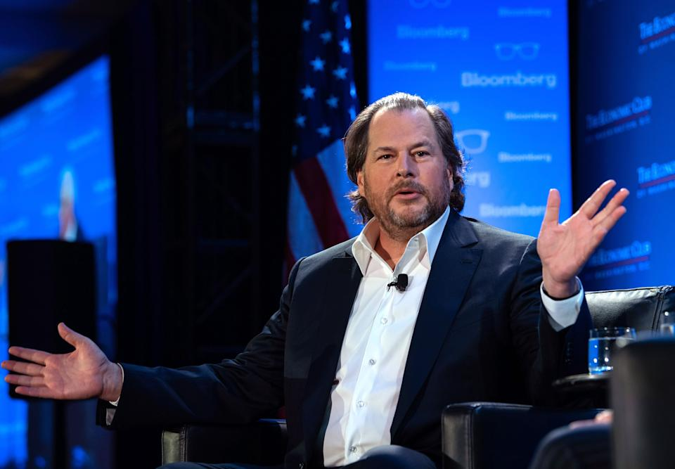 Marc Benioff founded Salesforce in 1999. Photo: Getty Images