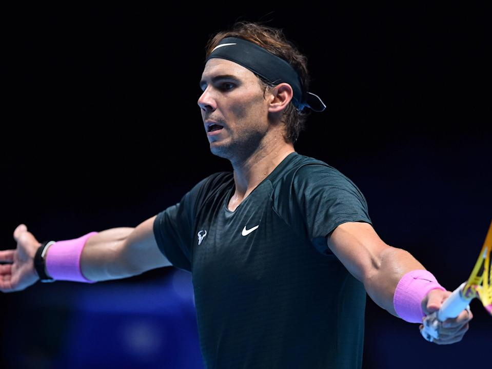 <p>The O2 Arena is hosting the ATP Finals for the final time before the tournament moves elsewhere</p> (AFP via Getty Images)