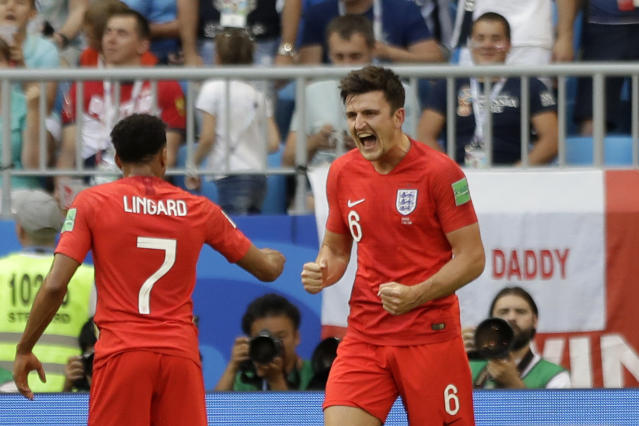 <p>It's Harry Maguire. </p>