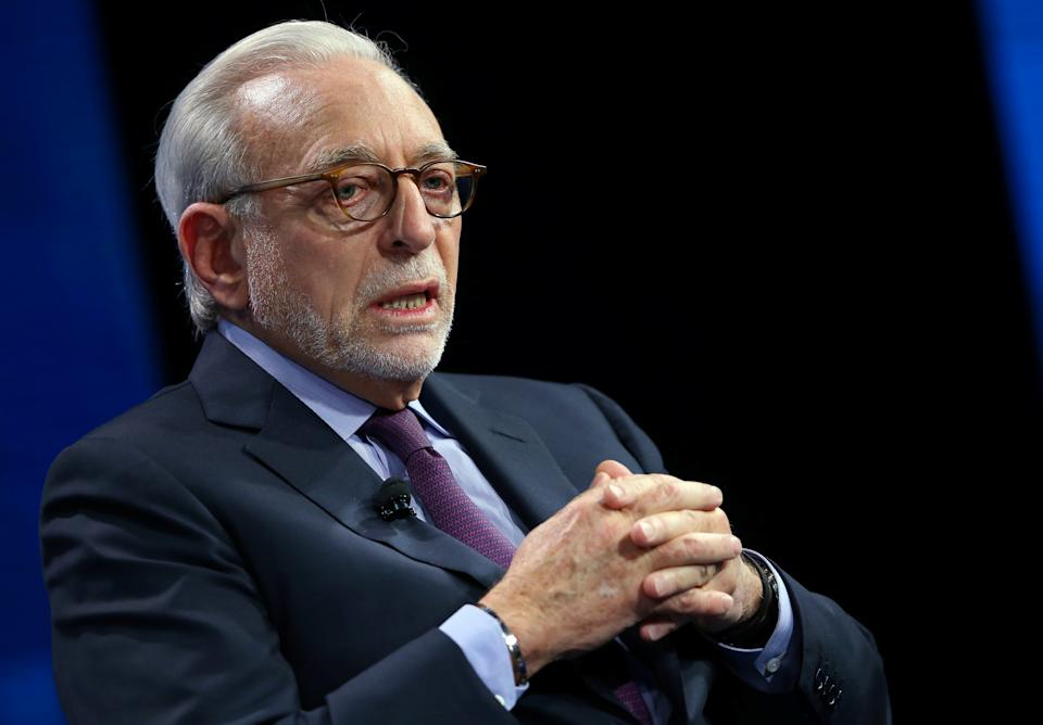Nelson Peltz is resigning from his strategic advisory role at Aurora Cannabis. (REUTERS/Mike Blake)