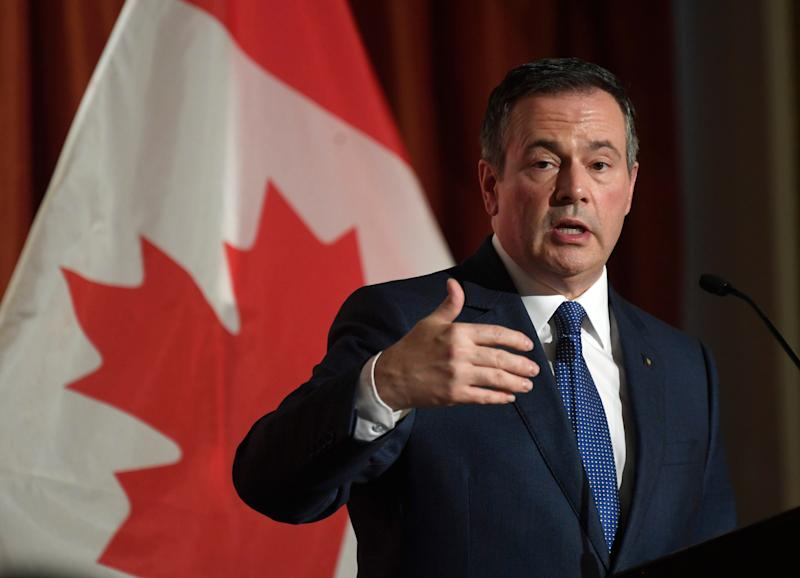 Alberta Premier Jason Kenney speaks at the Canadian Club in Ottawa on Monday Dec. 9, 2019. (Photo: Adrian Wyld/THE CANADIAN PRESS)