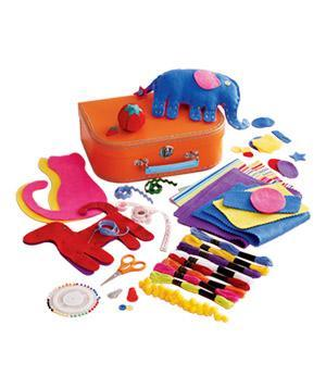 "<div class=""caption-credit""> Photo by: landofnod.com</div><b>Just Say Sew Sewing Kit</b> <p> With pre-cut felt patterns, simple instructions, and colorful thread, this is the perfect starter kit for the mini do-it-yourselfer. <br> <br> <b>To buy:</b> $32, <a href=""http://www.landofnod.com/just-say-sew-sewing-kit/f707"" rel=""nofollow noopener"" target=""_blank"" data-ylk=""slk:landofnod.com"" class=""link rapid-noclick-resp"">landofnod.com</a>. </p>"