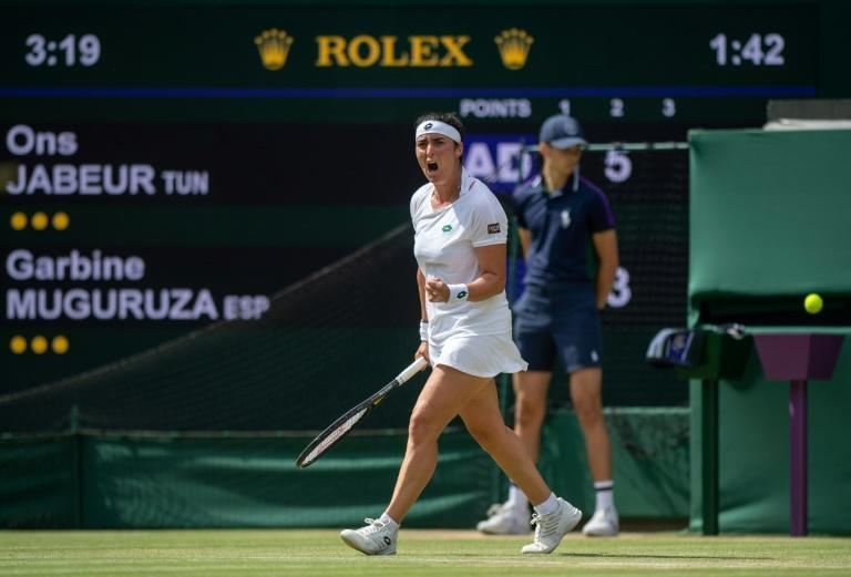 Tunisian trailblazer Ons Jabeur says she lacked a tennis role model close to home when she was a youngster with America's 2003 US Open champion Andy Roddick her favourite player of all time