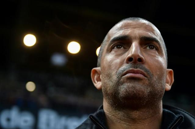 Sabri Lamouchi has made a bright start as Nottingham Forest manager and his side rubber-stamped that impression by inflicting Swansea's first defeat of the Championship season (AFP Photo/JEAN-FRANCOIS MONIER)