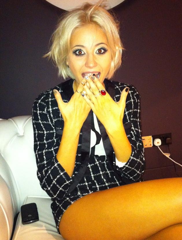 Celebrity photos: We caught up with Pixie Lott as she launched her collection for Lipsy.
