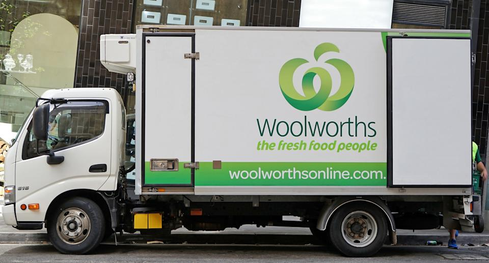 A Woolworths delivery