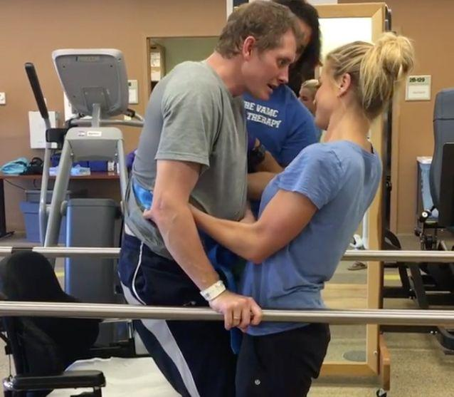 Laura spends up to 10 hours a day with Jonathan. Source: Instagram / laurabpilates