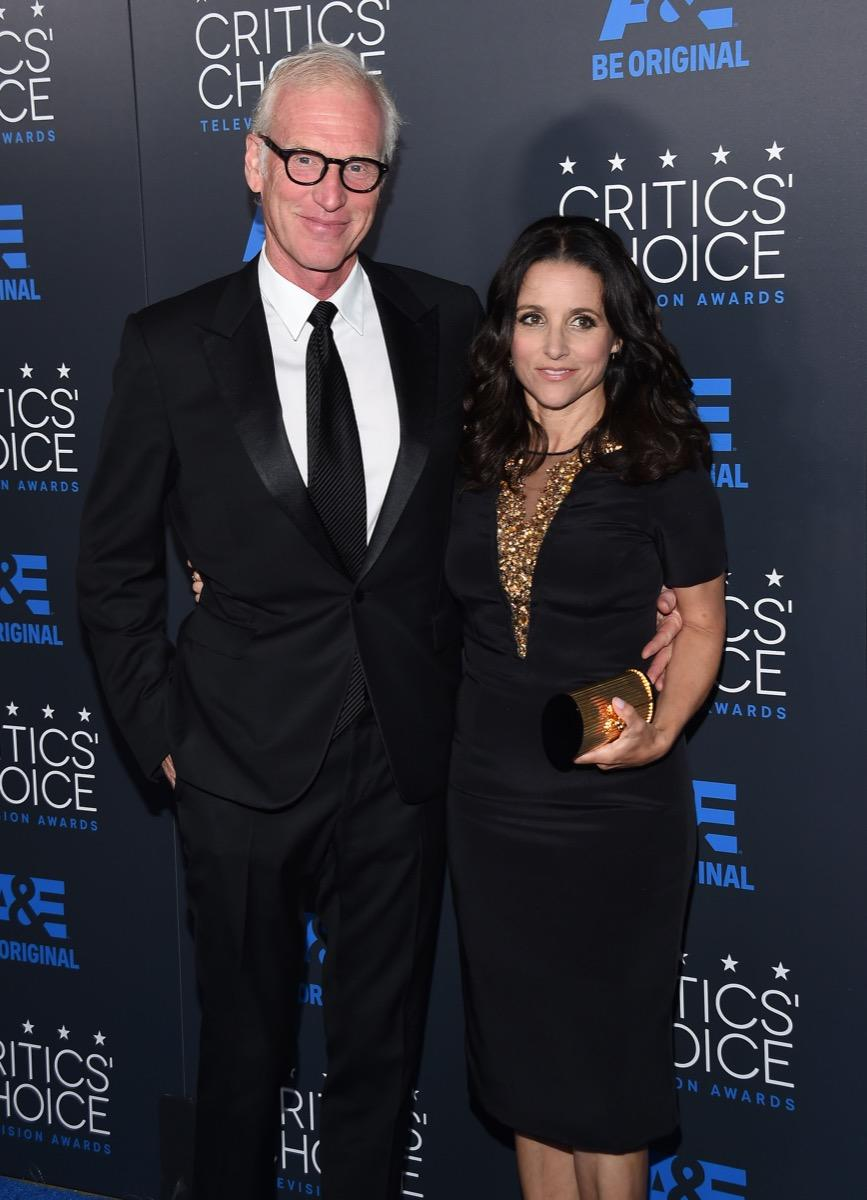 julia louis dreyfus and brad hall