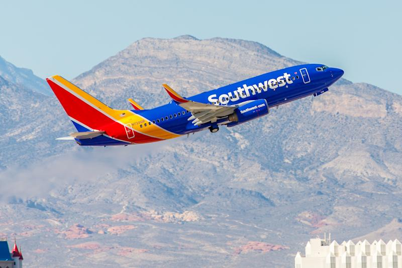Southwest is a major US airline and the world's largest low-cost carrier. It is the largest operator of the 737 worldwide. (Source: Getty)