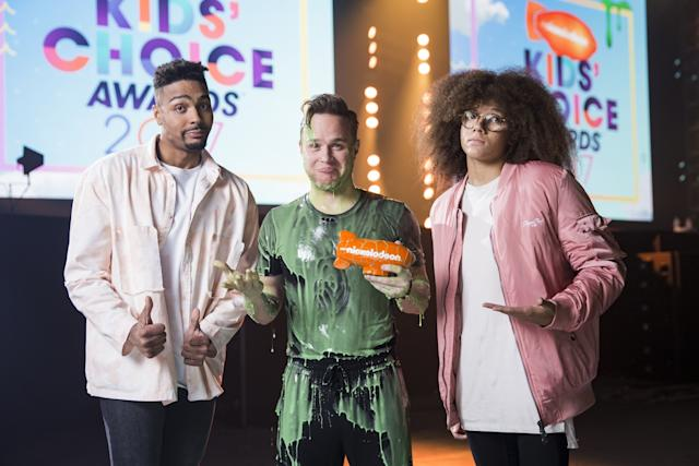 Olly Murs Nickelodeon Kids Choice Awards 2017