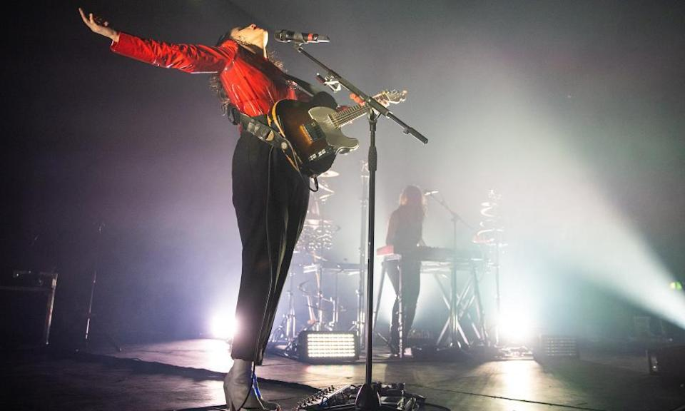 Anna Calvi at the Roundhouse in London, 2019.