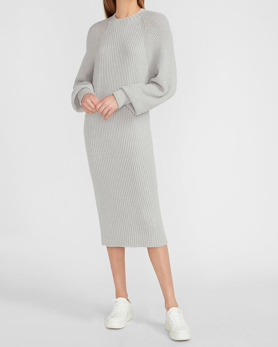 <p>This <span>Balloon Sleeve Midi Sweater Dress</span> ($44, originally $88) is the definition of casual elegance. The relaxed fit is just a bonus.</p>