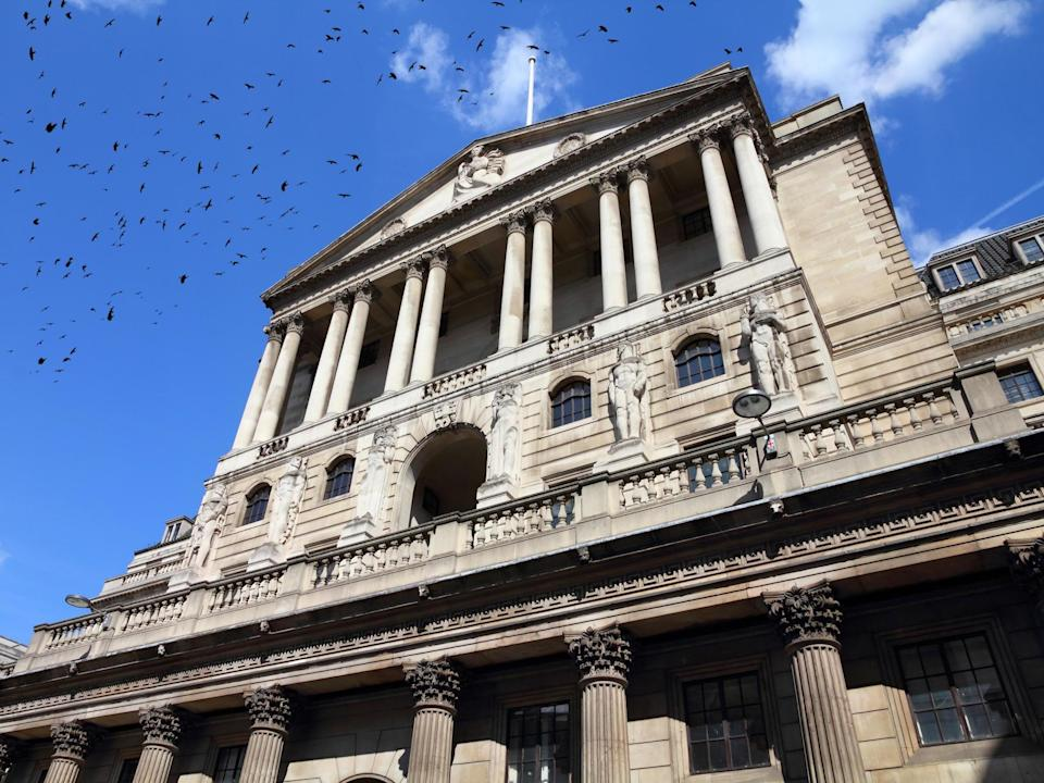 Bank of England last changed interest rate in 2018, raising it from 0.5 to 0.75 per cent: Getty
