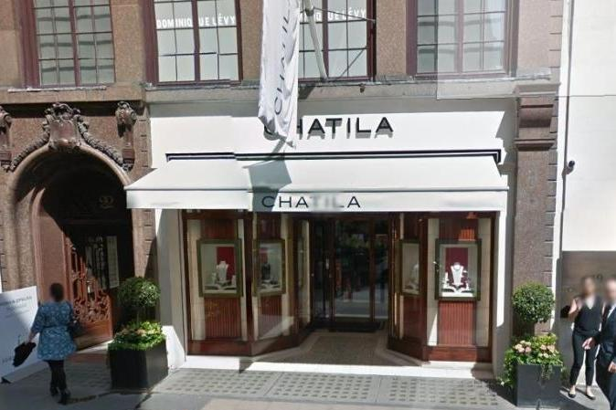 £1 million raid: Chatila was raided in 2010: Google maps