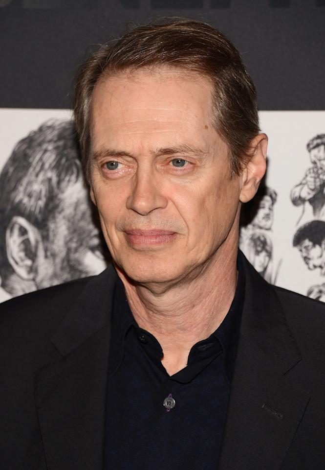 NEW YORK, NY - DECEMBER 03:  Actor Steve Buscemi attends The Museum of Modern Art Film Benefit Honoring Quentin Tarantino at MOMA on December 3, 2012 in New York City.  (Photo by Andrew H. Walker/Getty Images)
