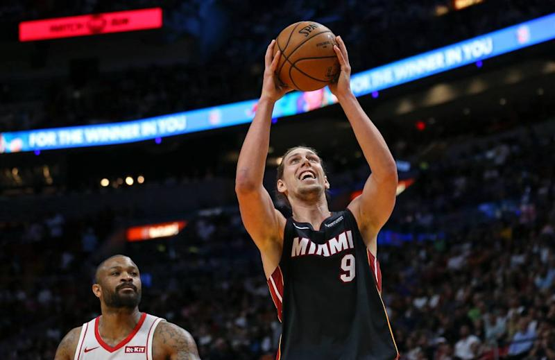 Start of the season has been full of unexpected twists and turns for Heat's Kelly Olynyk