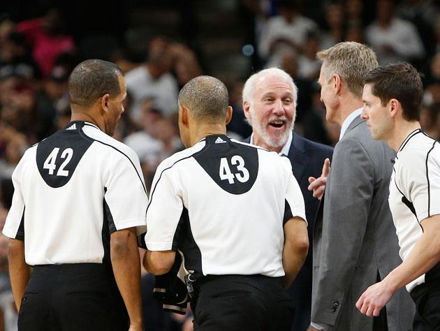 """""""Ha, I told 'em I was putting you in! Van Gundy went nuts."""" (Getty Images)"""
