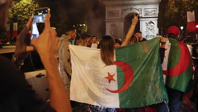 French police arrest 282 in unrest after Algeria football win