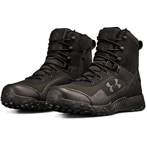 """<p><strong>Under Armour</strong></p><p>amazon.com</p><p><strong>$124.95</strong></p><p><a href=""""https://www.amazon.com/dp/B076SJDH33?tag=syn-yahoo-20&ascsubtag=%5Bartid%7C2139.g.19540212%5Bsrc%7Cyahoo-us"""" rel=""""nofollow noopener"""" target=""""_blank"""" data-ylk=""""slk:BUY IT HERE"""" class=""""link rapid-noclick-resp"""">BUY IT HERE</a></p><p>Though you might be used to turning to Under Armour to support your performance at the gym, you might <em>not</em> realize that the athleticwear company also has your worksite footwear game covered. This men's work boot is super lightweight, thanks to a plastic toe cap that offers protection without extra weight. It also contours to the shape of your ankle for extra stability. The side zipper makes them easy to get in and out of.</p>"""