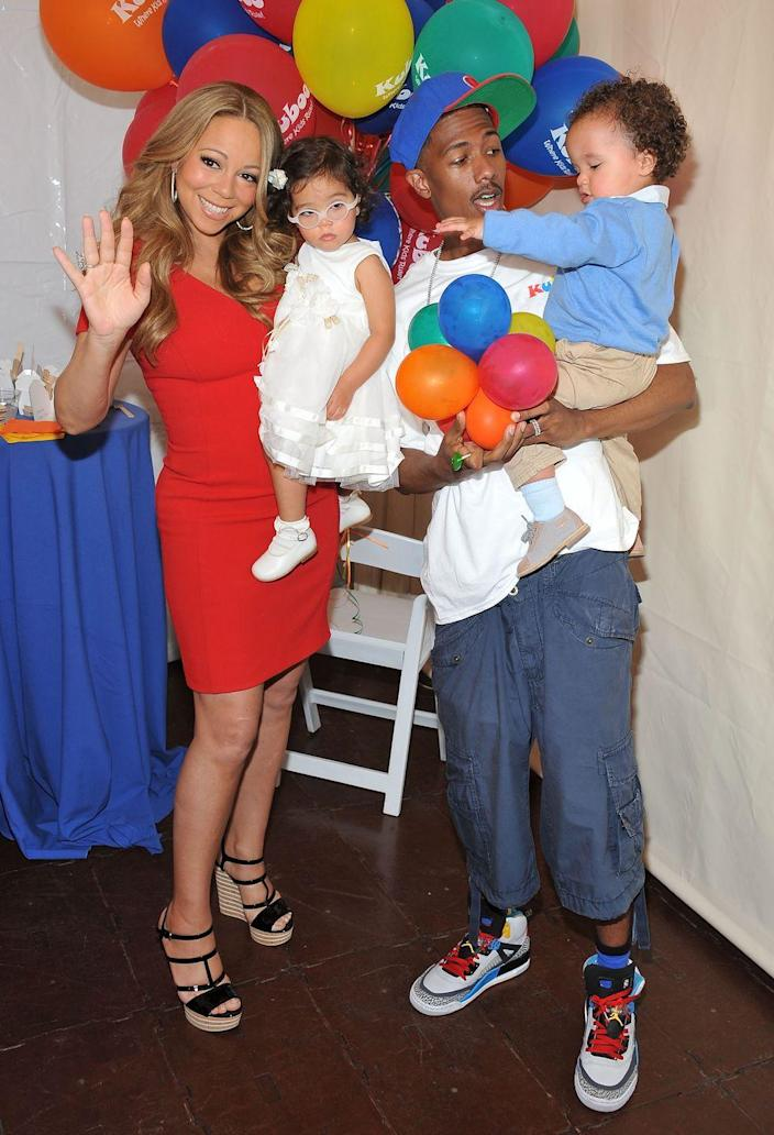 <p>Mariah Carey and Nick Cannon welcomed their twins into the world on April 30, 2011.</p>