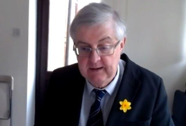 First Minister of Wales Mark Drakeford (House of Commons/PA)