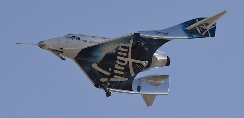 img Branson's Virgin Galactic Space-Tourism Venture to Go Public