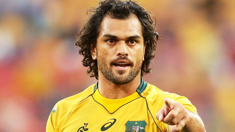 Karmichael Hunt is vying for a return to the NRL after signing a train and trila deal with the Brisbane Broncos, who he won an NRL premiership with in 2006. (Photo by Matt King/Getty Images)