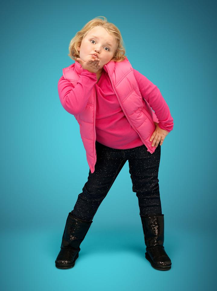 "Honey Boo Boo (Alana Thompson) in Season 2 of TLC's ""Here Comes Honey Boo Boo."""