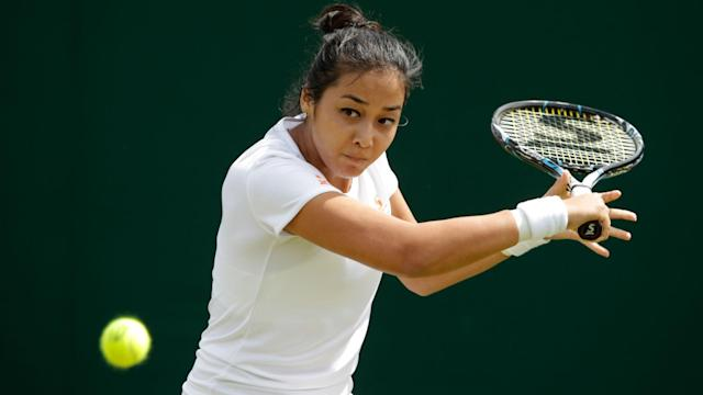 Kurumi Nara retired from her second-round match as two fellow seeds and Zarina Diyas progressed to the last eight in Zhengzhou.