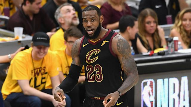 The Cavaliers were grateful to LeBron James for a key win against the Celtics, with their star man in scintillating form.