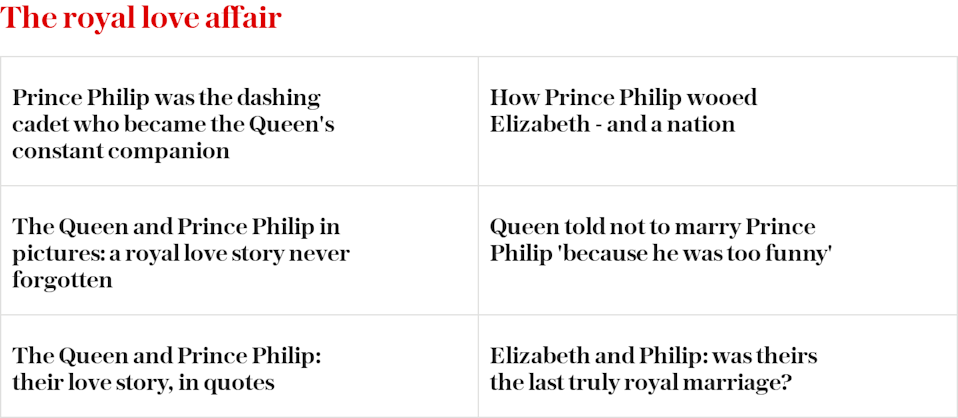Queen Elizabeth and Prince Philip love story - read more
