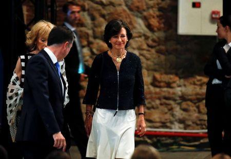 Spanish bank Santander chairman Ana Patricia Botin attends a Let Girls Learn event, in Madrid, Spain, June 30, 2016. REUTERS/Andrea Comas